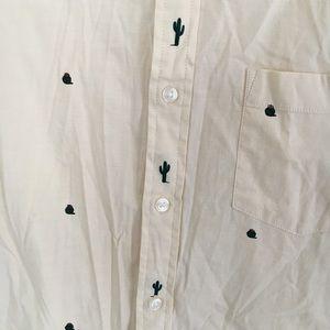 Sonoma Shirts - Sonoma goods for life men's cactus shirt sz. L